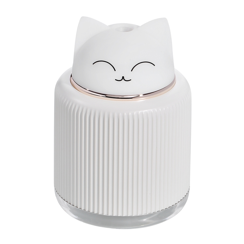 300ML USB Humidifier Ultrasonic Air Humidifier Essential Oil Diffuser With LED Night Lamp Gift Electric Aroma Air Home Car Humid