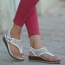 Женские сандалии в римском стиле повседневные спортивные шлепанцы