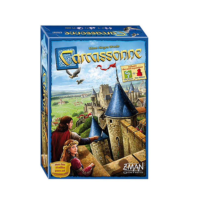 Carcassonne Board Game English Standard Edition 2-5 Players