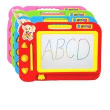 Brinquedos para crianças criança cor escrita magnética pintura desenho graffiti placa brinquedo pré-escolar ferramenta de desenho brinquedos