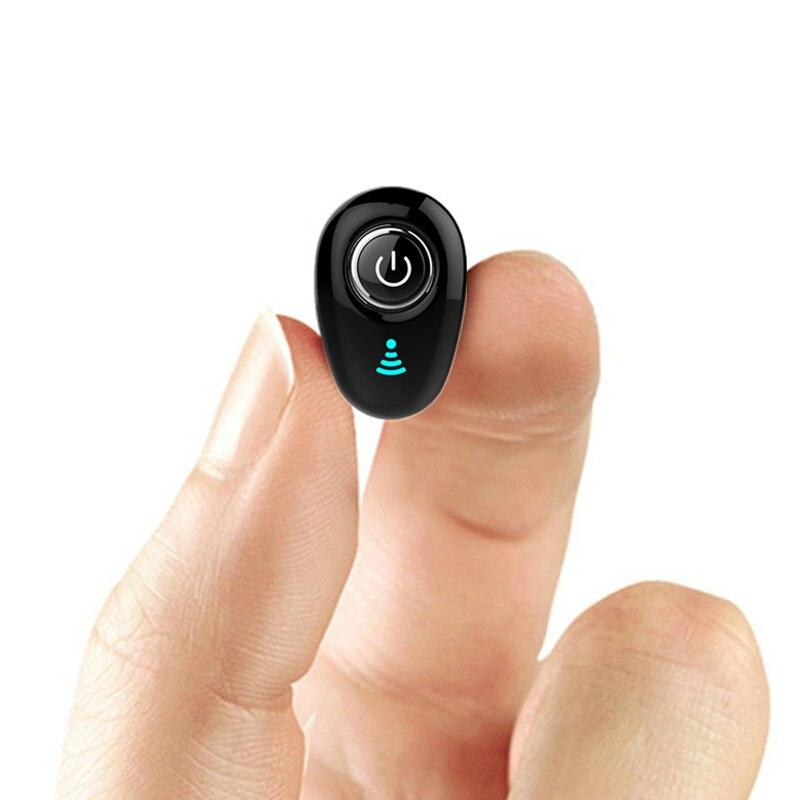 S650 мини Bluetooth наушники беспроводные с наушниками телефон гарнитура невидимая для микрофона в ухо