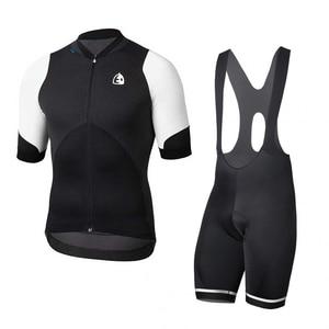 2019 Pro Team Etxeondo Summer Cycling Jersey Shirts Maillot Ciclismo Men Short Sleeve Quick Dry MTB Bike Clothing set(China)