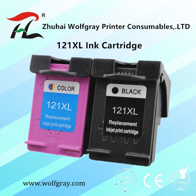Compatible 121XL Ink Cartridge For HP 121 For HP121 Deskjet D2563 F4283 F2483 F2493 F4213 F4275 F4283 F4583 Printer