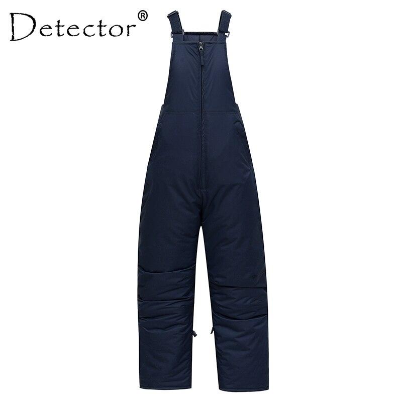 Detector Women Windproof Snowboard Bib Ladies Warm Winter Pants Waterproof Female Breathable Adult Ski Pants Suspenders Overalls