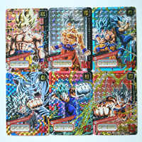 24 шт./компл. супер Dragon Ball Z тонкой ограниченное карты героев битвы ультра инстинкт персонажи Гоку, Веджета, игровая коллекция карт