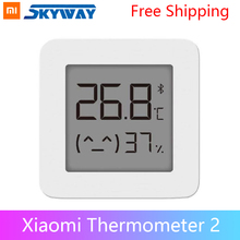 Original Xiaomi Smart Lcd bildschirm Digitale Thermometer 2 Bluetooth Temperatur Feuchtigkeit Sensor Feuchtigkeit Meter Mijia App