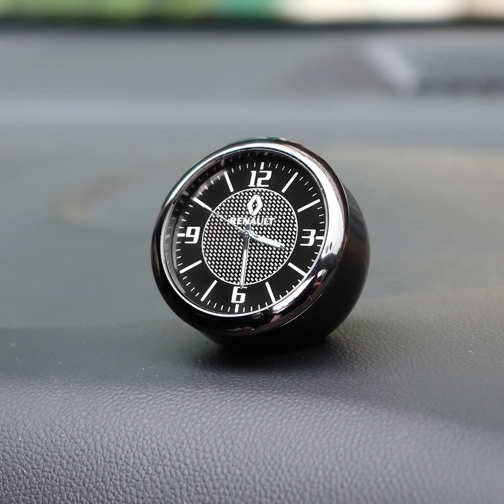 Car Clock interior Auto Accessories Dashboard Decoration For <font><b>Renault</b></font> Megane 2 3 Clio 4 Duster Captur Euro Kangoo Express <font><b>Koleos</b></font> image