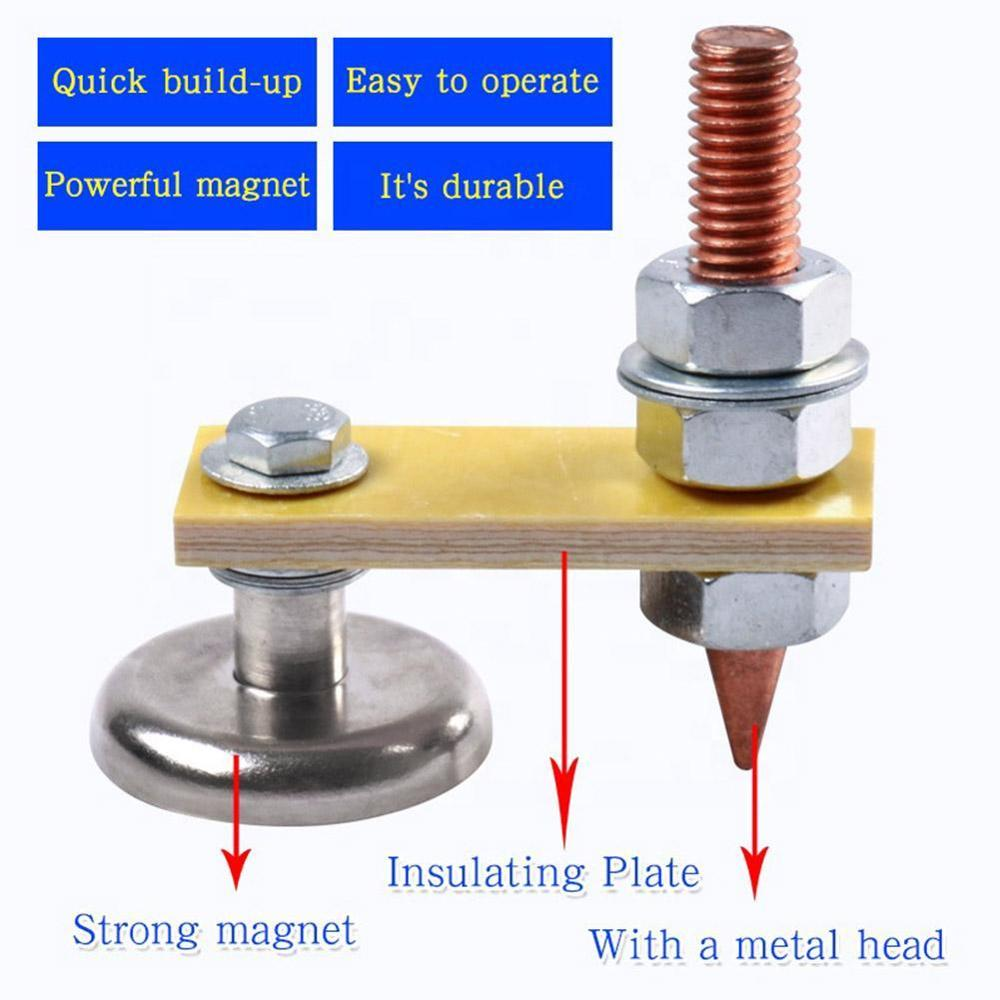 Magnetic Welding Ground Clamp Small Magnetic Welding Ground Clamp Holder Electromagnetic Welding Ground Clamp Dropshipping