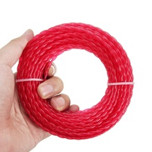 3.0mm*15m twist shape professional level Garden Nylon Grass Trimmer Line Wire Roll Cord String Rope For Grass Strimmer
