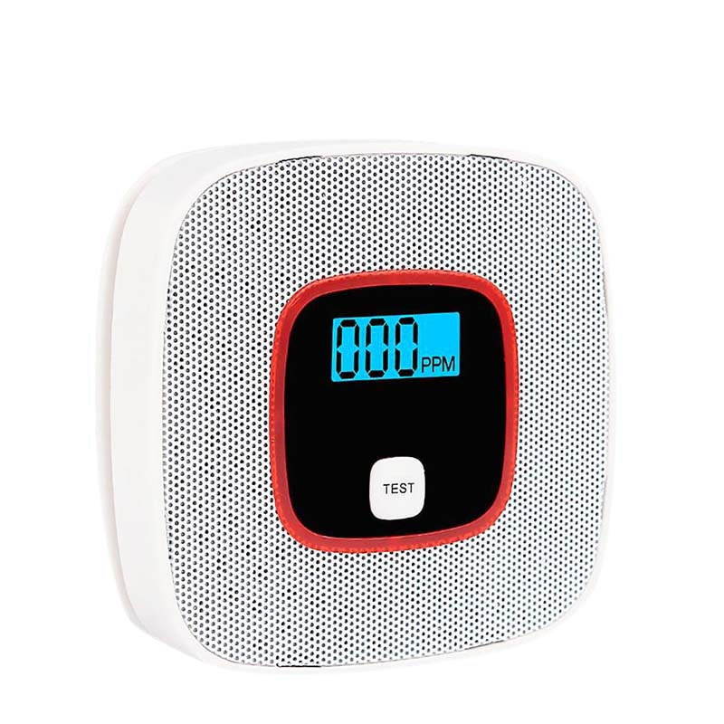 ABKT-Carbon Monoxide Co Smoke Two-In-One Detector Voice