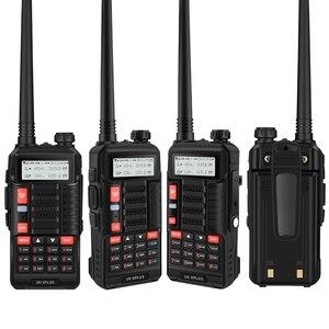 Image 3 - Baofeng UV 6 PLUSยาวWalkie Talkieชาร์จ7W Dual Band HamวิทยุUv 5rวิทยุCbสำหรับการล่าสัตว์