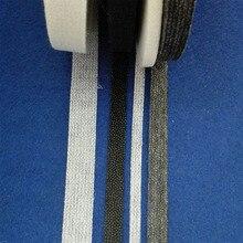 Клейкая обшивка для кукол своими руками, двусторонняя, легко стирается, ткань с утюгом для шитья, лоскутный материал для Гареев, 100 ярдов