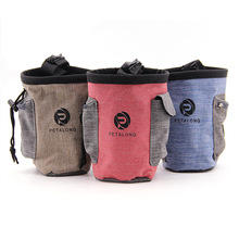 The new multi-color pets go out of the food bag dog training waist bag easy to carry bag pet supplies pet snack bag dog carriers pet training belt bag with belt portable and convenient to go out training pet special snack bag training bag snack bag