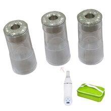 Cabezales de repuesto para accesorios de Peeling, 10 Uds., cabezales de repuesto para dispositivo de belleza Facial, dermoabrasión con diamante para la piel