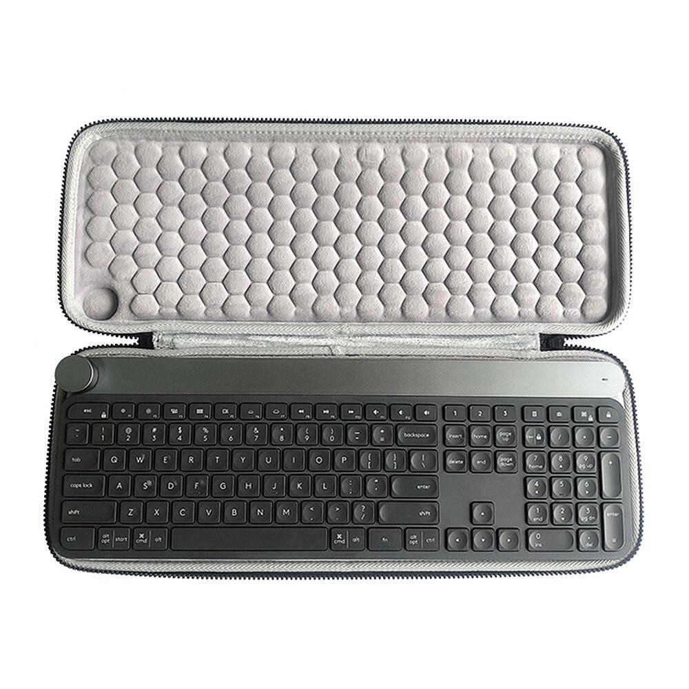 Nouvelle mallette de voyage rigide EVA de protection pour Logitech Craft sans fil clavier voyage portable mallette de rangement