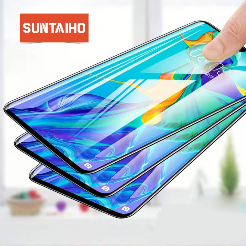 Tempered Glass For Huawei P30 Lite P20 Pro P Smart 2019 3Pcs Screen Protector Protective Glass For Huawei Mate20Lite 10Pro Glass