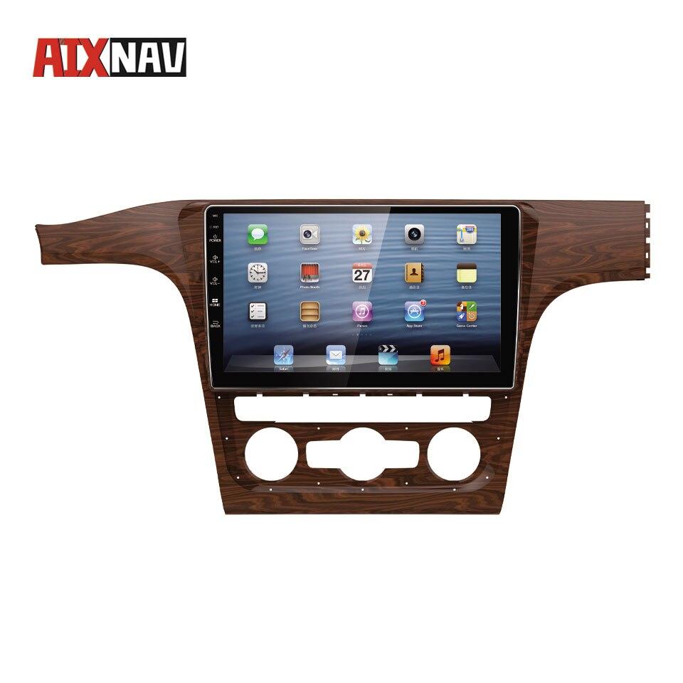 Lecteur multimédia voiture GPS Navigation Android Autoradio Bluetooth pour Volkswagen PASSAT Auto Radio 2 Din FM AM Headunit DVD Playe