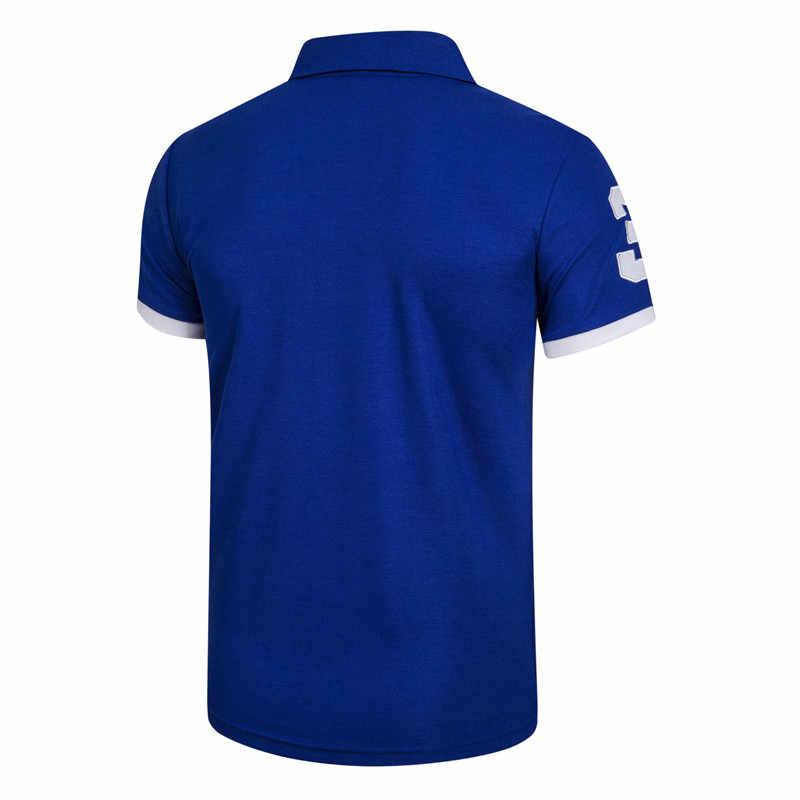 5 sztuk zestaw Polo mężczyźni solidna Slim Fit krótki rękaw Patchwork bawełniana koszulka Polo mężczyźni moda Streetwear