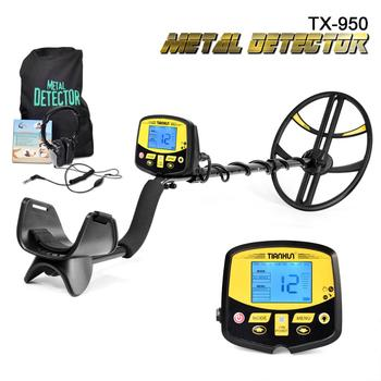 Professional Under Ground Metal Detector de metal Search Pinpointer Gold Detector Treasure Hunter Scanner New Arrival TX-950 metal detector pinpointer portable gold detector pin pointer treasure hunter automatic tuning belt holster led indicator