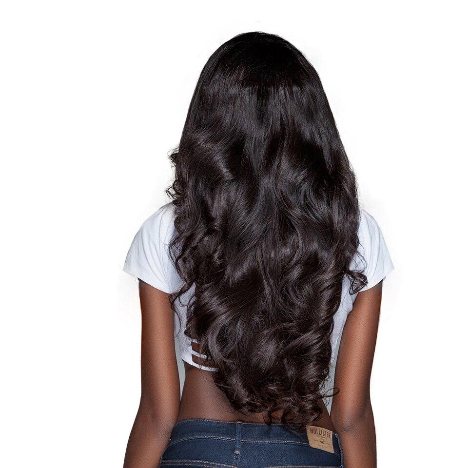 Peruvian Natural Human Hair Body Wave Hair Bundles 30 32 34 36 40 Inches 1 3 4 Bundles Hoho Double Wefts Thick Remy Fashion Hair (1)