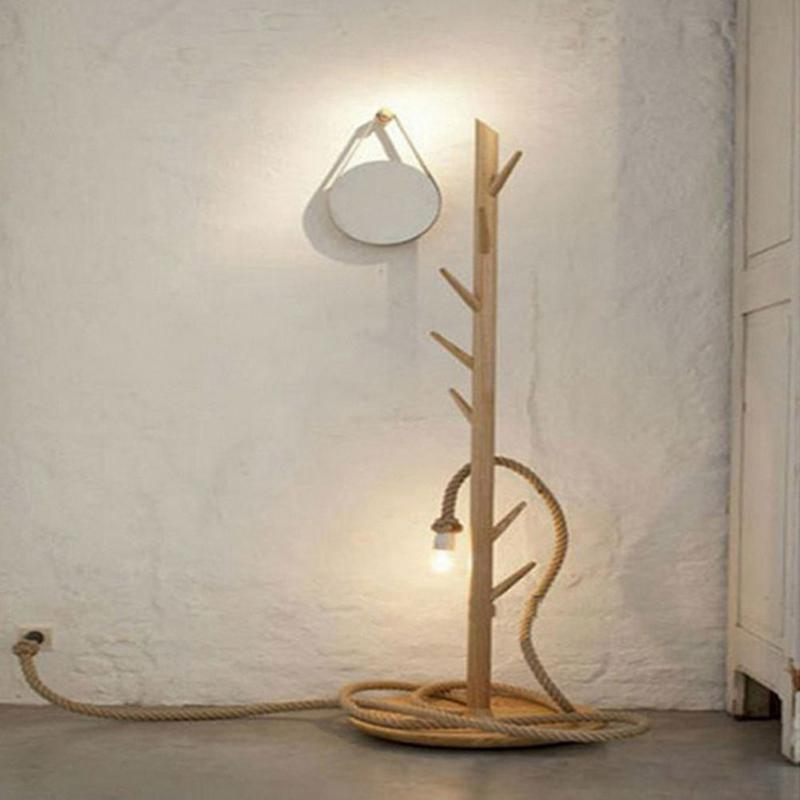H44a5f86819674efeae1cef397564a037L 1M Vintage Rustic Hemp Rope Ceiling Chandelier Wiring E27 220V Pendant Lamp Hanging Lights for Living Room Bar Decor