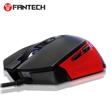 FANTECH X15 Wired Gaming Mouse 7 Button 4800 DPI Optical Game Mouse Macro RGB mouse For PC Computer FPS LOL CS Mouse gamer kingston hyperx pulsefire fps professional gaming mouse 2017 new listing