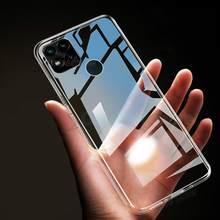Transparente claro tpu caso para redmi 9 9a 9c 8 8a 7a nota 9 s 9 s mi10t silicone capa para redmi nota 7 8 8t 9 pro caso macio max