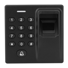 Biometric Fingerprint Recognization RFID Card Password Backlight Keypad With Power Cable Access Control Syetem homsecur waterproof wiegand 26 34 8000 user capacity rfid access control system with touch keypad backlight