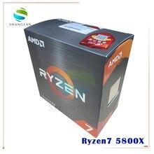 NEW AMD Ryzen 7 5800X R7 5800X 3.8 GHz Eight-Core sixteen-Thread 105W CPU Processor L3=32M 100-000000063 Socket AM4 no fan