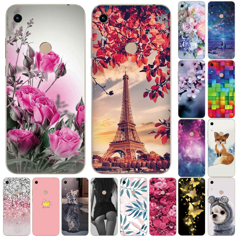 Soft Case Honor 8A Case For Huawei Honor 8A Case Silicone TPU Cute Back Cover Phone Case On Huawei Honor 8A JAT-LX1 8 A Honor8A