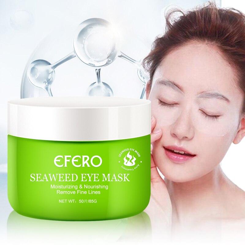 Seaweed Collagen Eye Mask Eye Patch Skin Care Hyaluronic Acid Gel Moisturizing Anti Aging Remove Dark Circles Eye Bag Skin Care