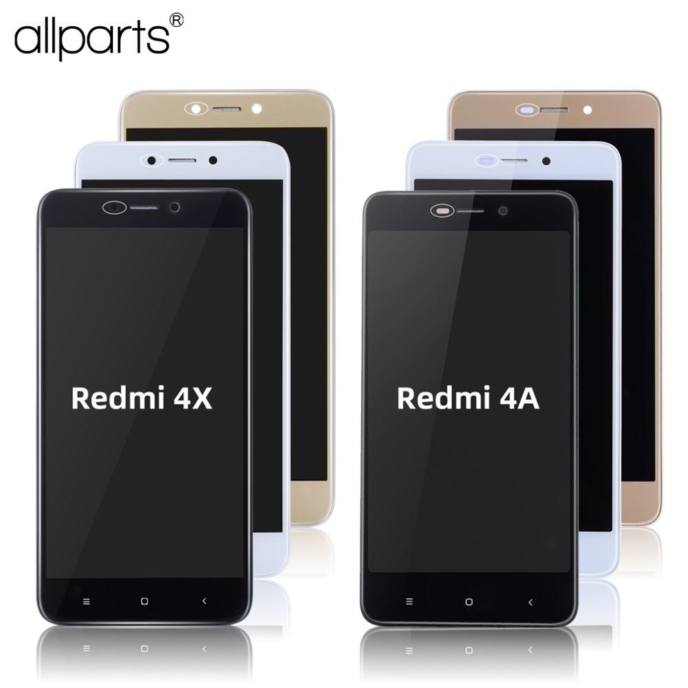Original Display For XIAOMI Redmi 4X LCD Display Touch Screen For Xiaomi Redmi 4A Display Assembly With Frame 4X LCD