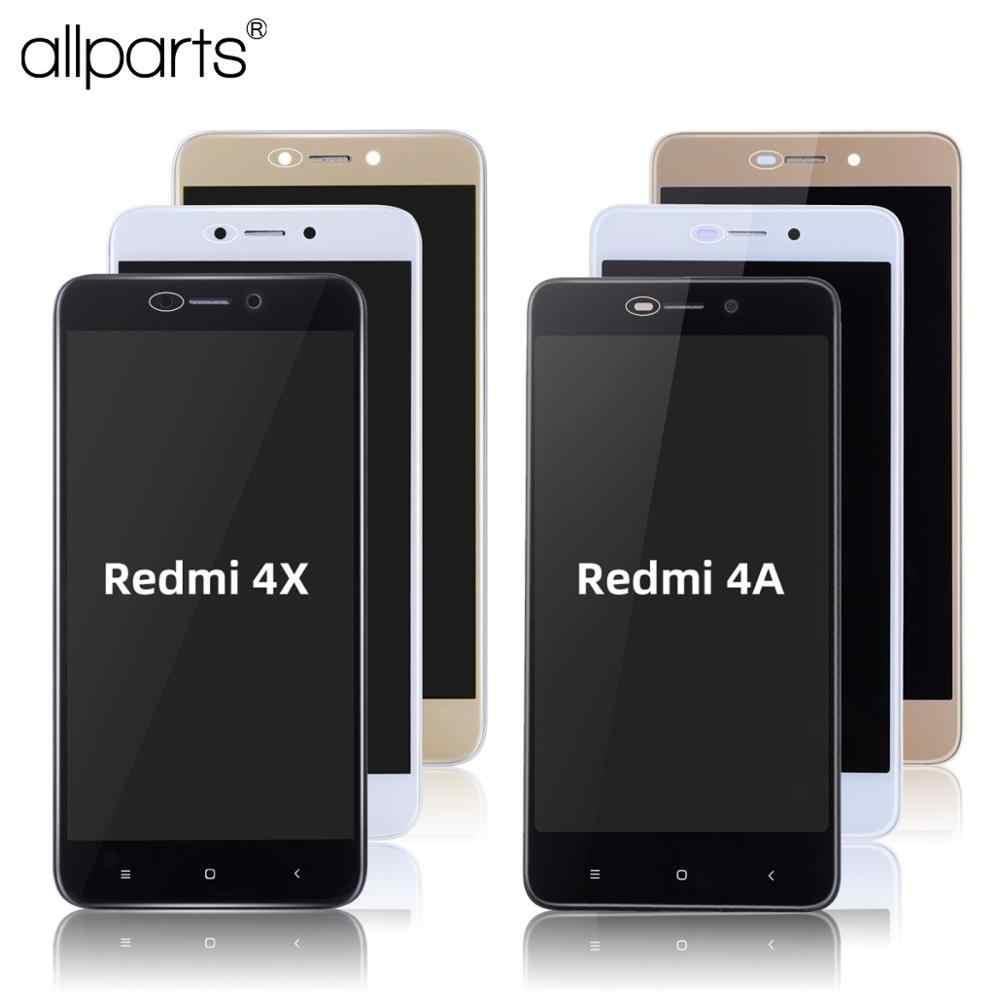 العرض الأصلي ل شاومي Redmi 4X عرض شاشة تعمل باللمس LCD ل شاومي Redmi 4A شاشة الكريستال السائل الجمعية مع الإطار 4X شاشة الكريستال السائل