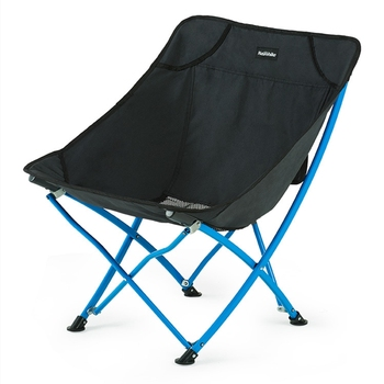 Outdoor Folding Chair Portable Leisure Chair Simple Wild Beach Camping Sketch Fishing Moon Chair Folding Stool