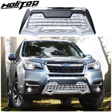 Bull-Bar Subaru Forester Front Abs-Plastic Iso-Quality Easy-Installation Bumper-Guard/skid-Plate