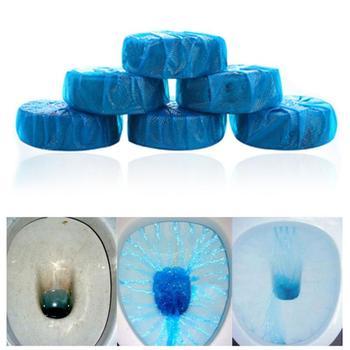 Blue Bubble toaleta czyszczenie automatyczne spłukiwanie toaleta Spirit Cleaner dezodorujący kąpiel spirytusowa neutralizator zapachów do zapachu łazienki tanie i dobre opinie 1 pc Tablet Inne