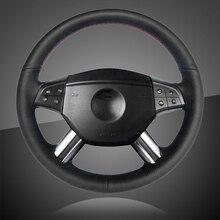 Cache volant pour voiture, tressage automatique, pour mercedes benz W164 classe M ML350 ML500 2005 2006 X164 classe GL GL450