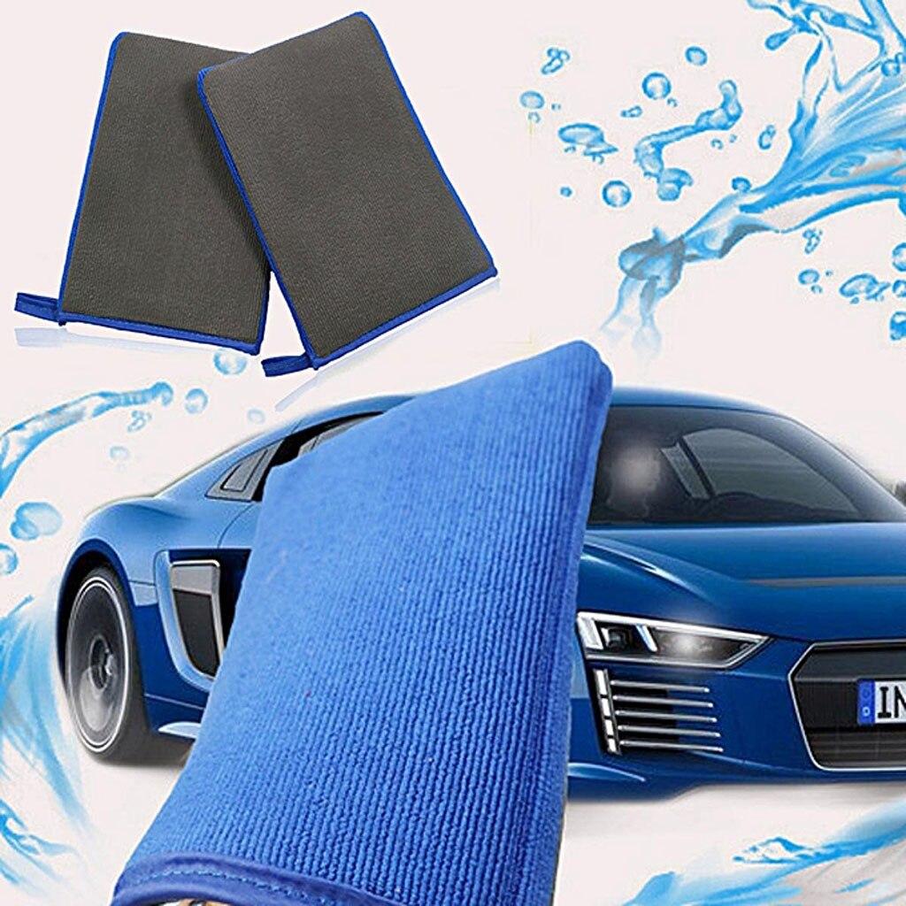 Волшебная Варежка для мытья автомобиля, полотенце для автоухода, Губка из микрофибры, коврик, инструмент для очистки и обслуживания автомоб...