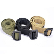 Belt-Accessories Waistbelt Tactical Fabric Front-Buckle Lightweight Nylon Daily Adjustable