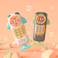 Baby Toy Phone Baby Remote Control Toy Touch Screen Toy Phone Play Mobile Phone Voice Simulating English Words Player Rattles