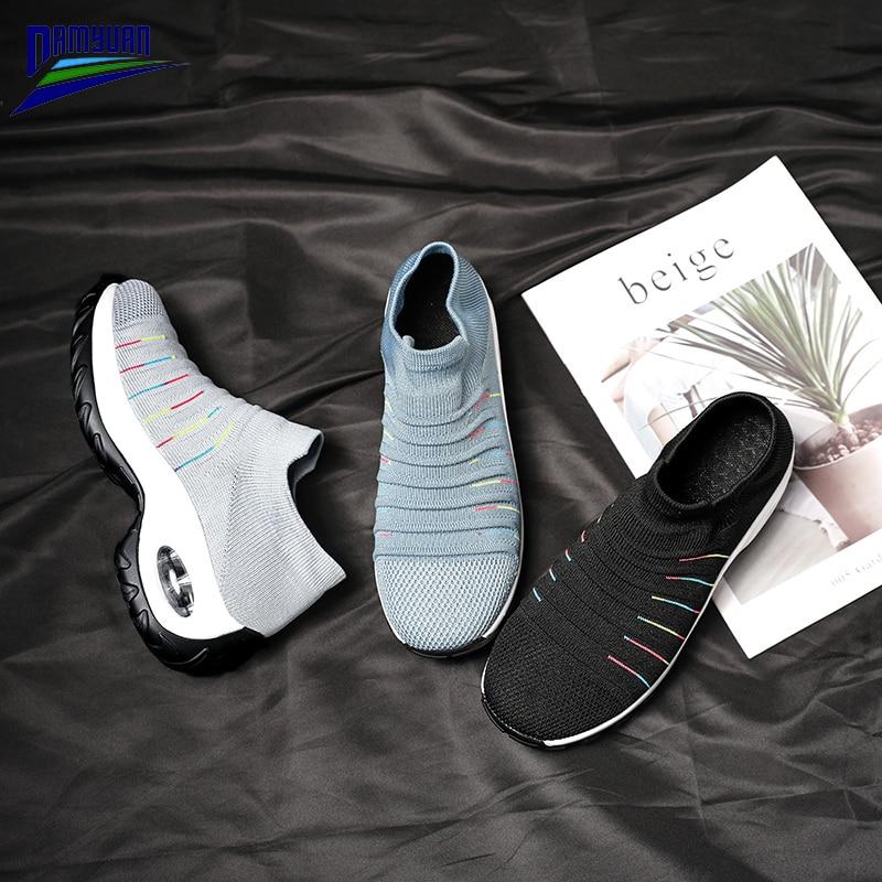 Купить damyuan/женская обувь на плоской подошве; мягкие дышащие лоферы