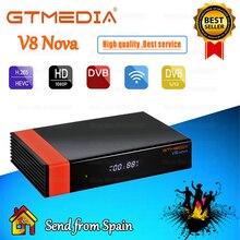 Best quality Gtmedia V8 NOVA New update Gtmedia V8X Built in wifi DVB-S2 H.265 1080P No app include