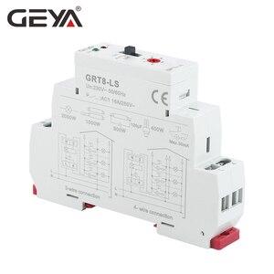Image 4 - Ücretsiz kargo GEYA GRT8 LS Din demiryolu merdiven zaman anahtarı 230VAC 16A 0.5 20 dakika ışık gecikme anahtarı