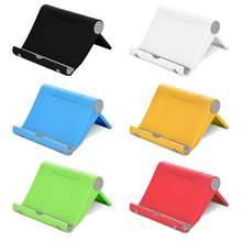 Preguiçoso universal telefone móvel portátil mini mesa suporte de mesa suporte do telefone celular para samsung iphone smartphone