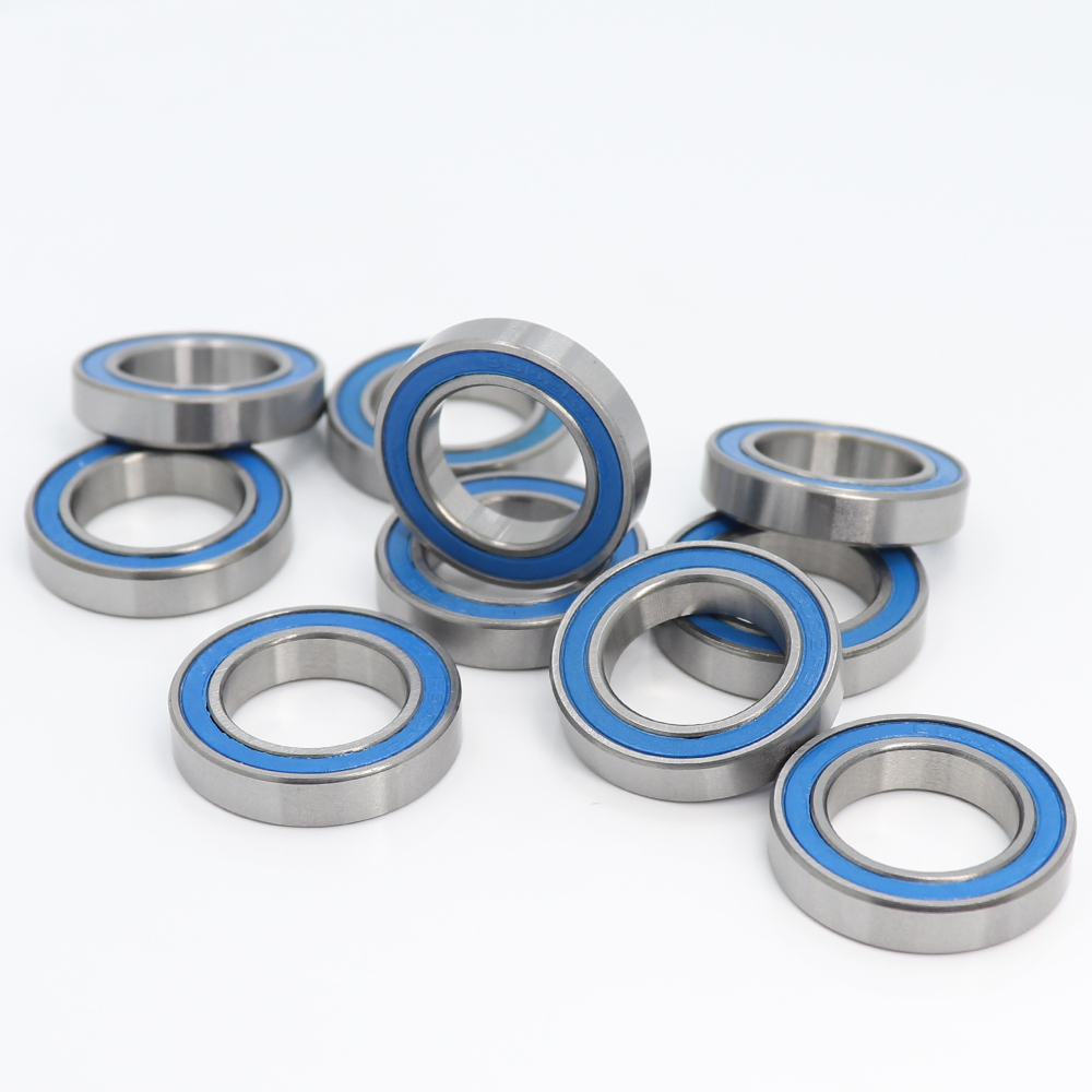 6802RS Bearing 10PCS 15x24x5 Mm ABEC-3 Hobby Electric RC Car Truck 6802 RS 2RS Ball Bearings 6802-2RS Blue Sealed