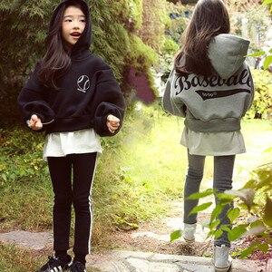 Image 1 - חדשה באיכות גבוהה אביב סתיו בני נוער בנות ספורט סט נקבה ילדים מקרית סוודר חליפת ילדי בגדי בני נוער אימוניות CA578