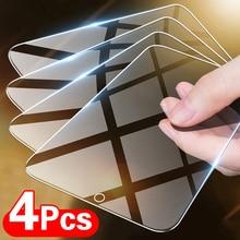 4 шт., закаленное стекло для Huawei P30 P40 P20 Lite P Smart, 2019, 2021 Z, Защитная пленка для экрана Huawei Mate 30, 20 Lite, стекло
