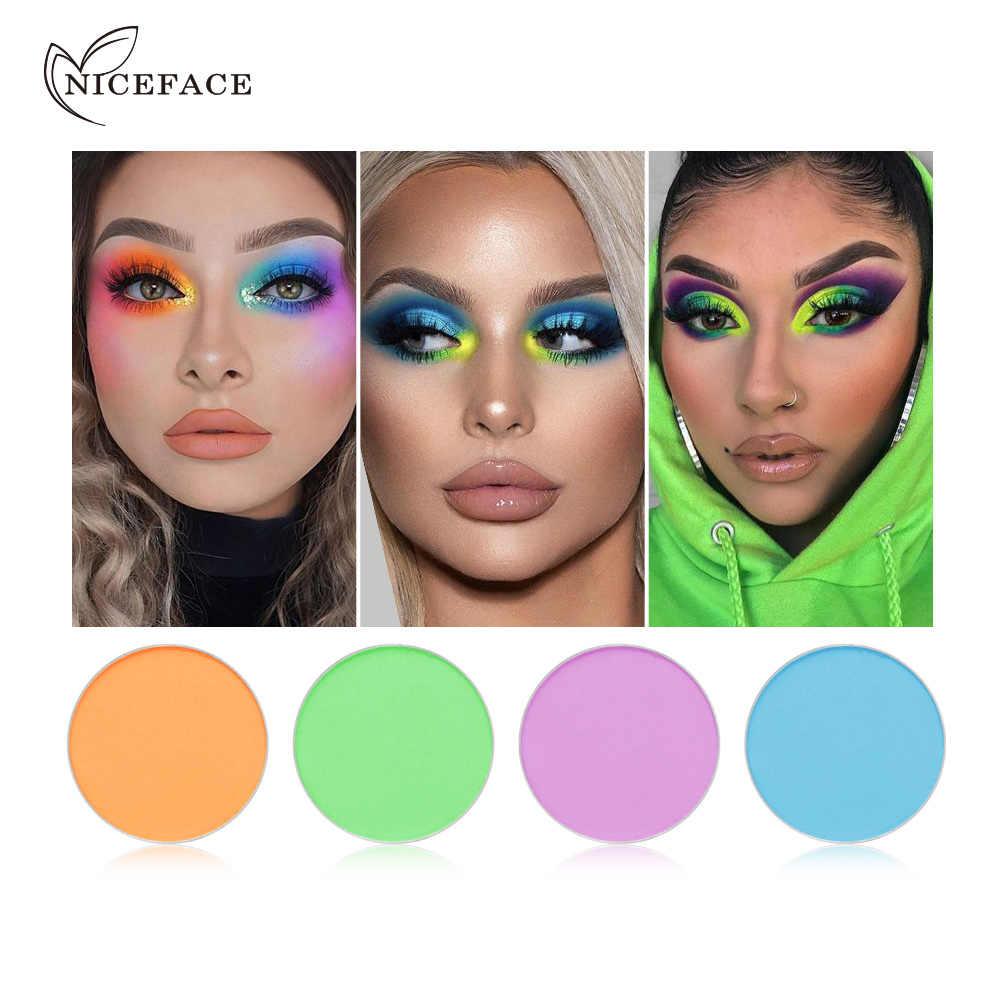 แต่งหน้าBrighten Eyeshadow Palette Eyesสวมใส่อายแชโดว์สีเขียวสีม่วงMake UpติดทนนานShadowsเครื่องสำอางค์