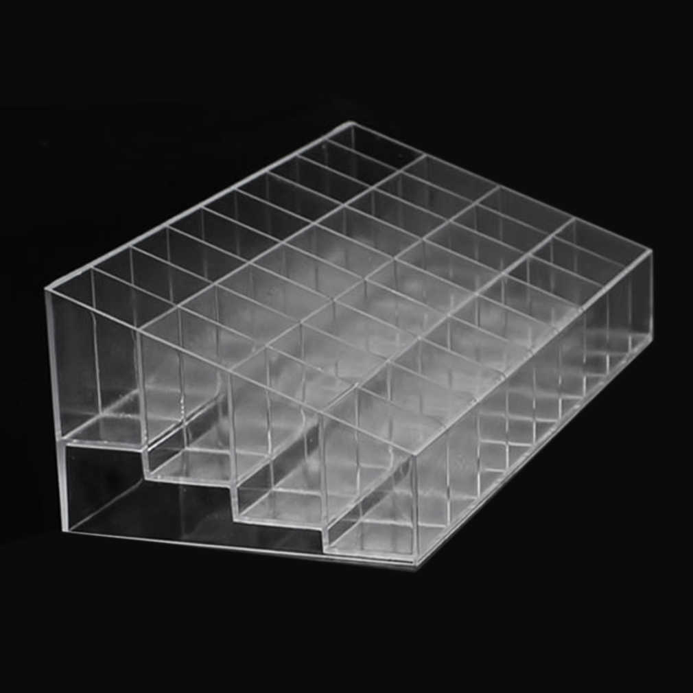 Aotu 24/36/40 Slots Acryl Make Organizer Cosmetische Makeup Tools Lipstick Stand Case Sieraden Houder Display Box Brushe Opslag
