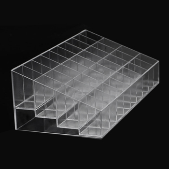 AOTU 24/36/40 Slots Acrylic Makeup Organizer Cosmetic Makeup Tools lipstick Stand Case Jewelry Holder Display Box Brushe Storage 24 grids makeup organizer acrylic lipstick storage box cosmetic display stand lipstick display holder jewelry display case